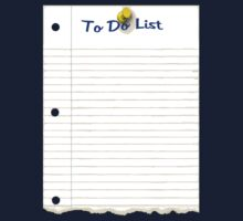 To Do List by Paul Gitto