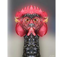 The Chickenator Photographic Print
