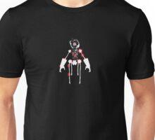 Ink Blot Ro-Bot (White recolor) Unisex T-Shirt
