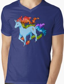 Rainidash Mens V-Neck T-Shirt