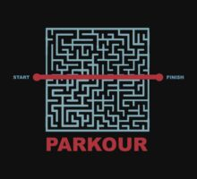 Parkour Maze Kids Clothes