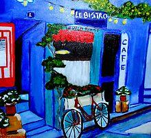 Le Velo Rouge by Rusty  Gladdish