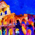 The Colosseum by DiNovici