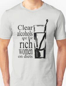 Clear Alcohol- Parks & Recreation Unisex T-Shirt