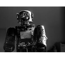 Happy Robot Photographic Print