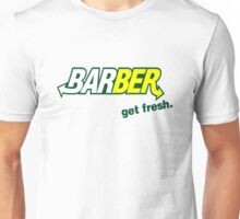 "Barber Get Fresh  ""Subway"" Unisex T-Shirt"