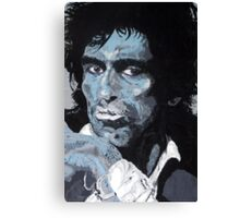 Blue Keef Canvas Print