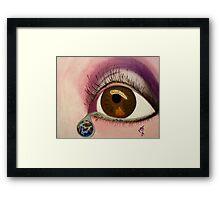Tearful Intercession Framed Print