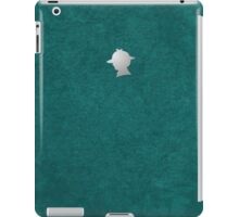 Sherlock Silhouette iPad/iPhone Case - Teal iPad Case/Skin