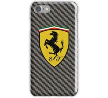 Carbon Fiber Ferrari Case iPhone Case/Skin
