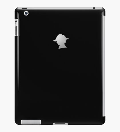 Sherlock Silhouette iPad/iPhone Case - Black iPad Case/Skin