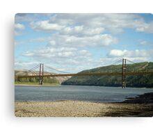 Dunvegan Bridge Canvas Print