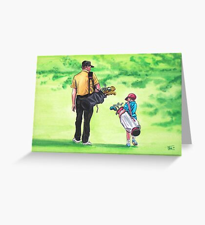 Great Golf Day Greeting Card