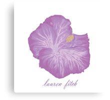 Lauren Fitch- Hibiscus  Canvas Print