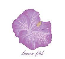 Lauren Fitch- Hibiscus  Photographic Print