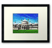 Brighton Pavilion, Brighton, England  Framed Print