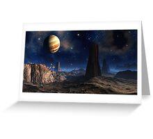 Monoliths at Loreen Greeting Card