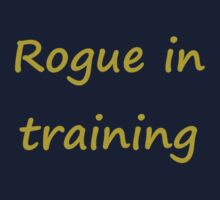 Rogue in Training Kids Tee
