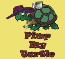 Pimp My Turtle. One Piece - Short Sleeve