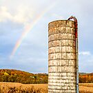 Silo and Rainbow by Kenneth Keifer