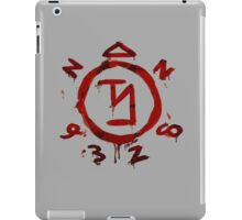 Angel-be-gone iPad Case/Skin