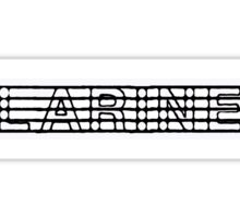 Clarinet Black II Sticker
