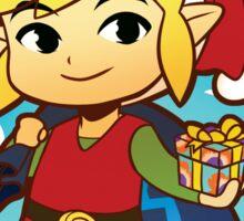 The Legend of Zelda: Wind Waker Link Seasonal Card Sticker