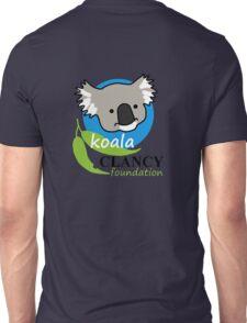 Koala Clancy Foundation - large logo Unisex T-Shirt