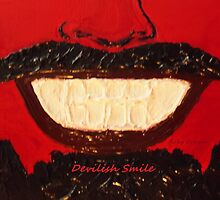 """""""Devilish Smile"""" by Ruby's Daydreams"""