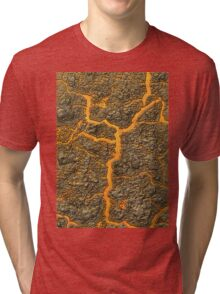 Lava and Rocks Tri-blend T-Shirt