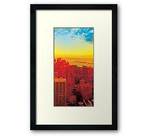 New York City Skyline (set 3 of 3) Framed Print