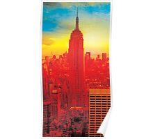 New York City Skyline (set 2 of 3) Poster