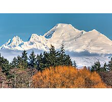 Mount Baker Photographic Print