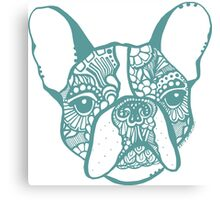 French_bulldogg Canvas Print