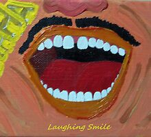"""""""Laughing Smile"""" painting by Ruby's Daydreams"""