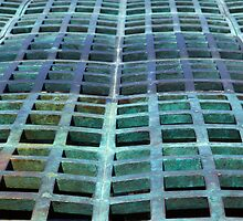 Green domed grating by bobkeenan