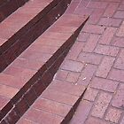 brick stairs by bobkeenan