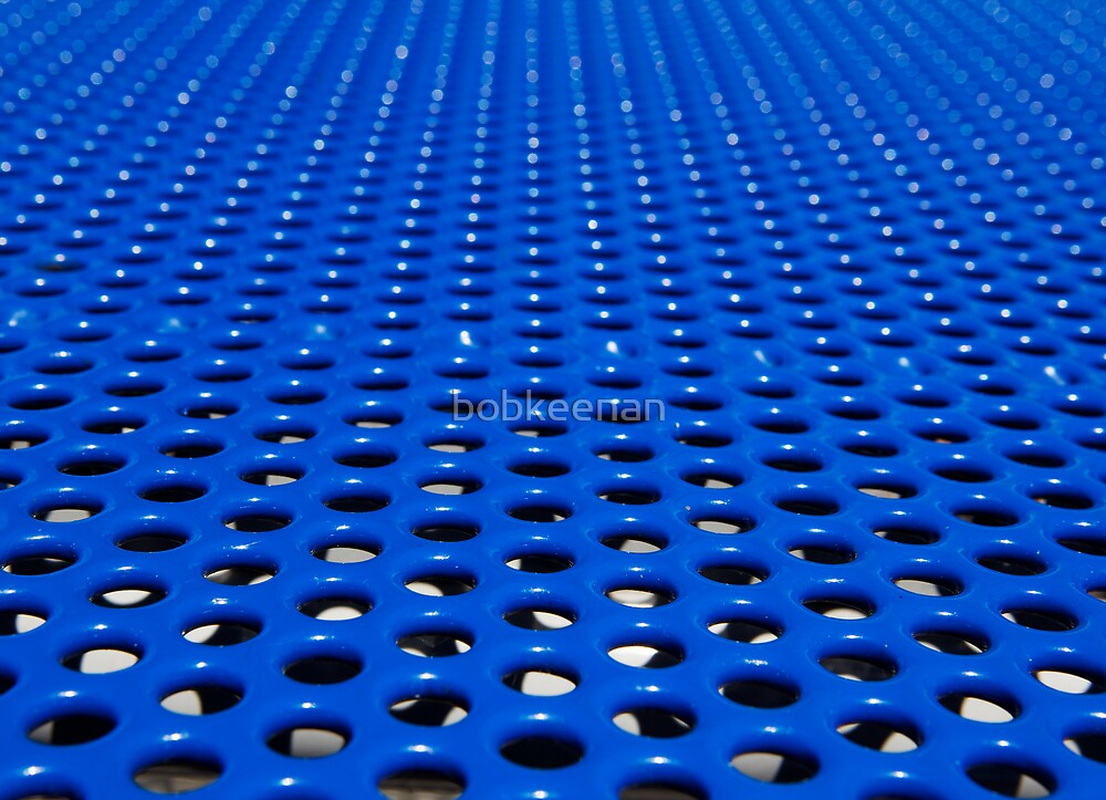 Blue grate by bobkeenan