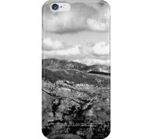 mountains seen from Johnston's Ridge iPhone Case/Skin