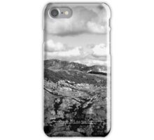 mountains seen from Johnston's Ridge iPhone Case/Skin