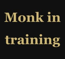 Monk in Training One Piece - Short Sleeve