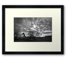 Haunted Landscape Framed Print