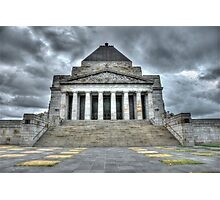 Melbourne War Memorial HDR Photographic Print