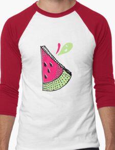 fruit Men's Baseball ¾ T-Shirt