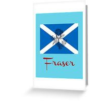 Fraser Greeting Card
