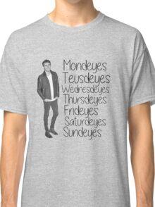 Youtuber Alfie Deyes days of the week  Classic T-Shirt