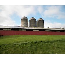 Dairy Farm Photographic Print