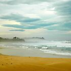Beach at Delmeny by Glen Johnson