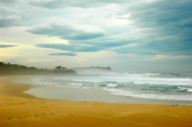 Beach at Delmeny by Glen Johnson