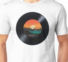 Rising Tide Blues  - Vinyl Disc Unisex T-Shirt